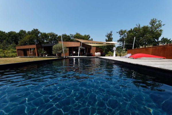 terrasse piscine voile